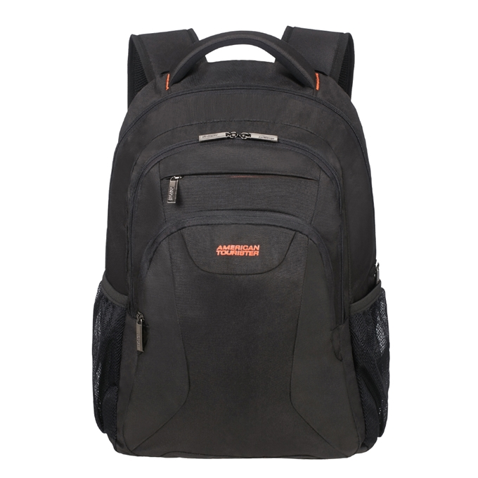 "American Tourister At Work Laptop Backpack 17.3"" black/orange - 1"