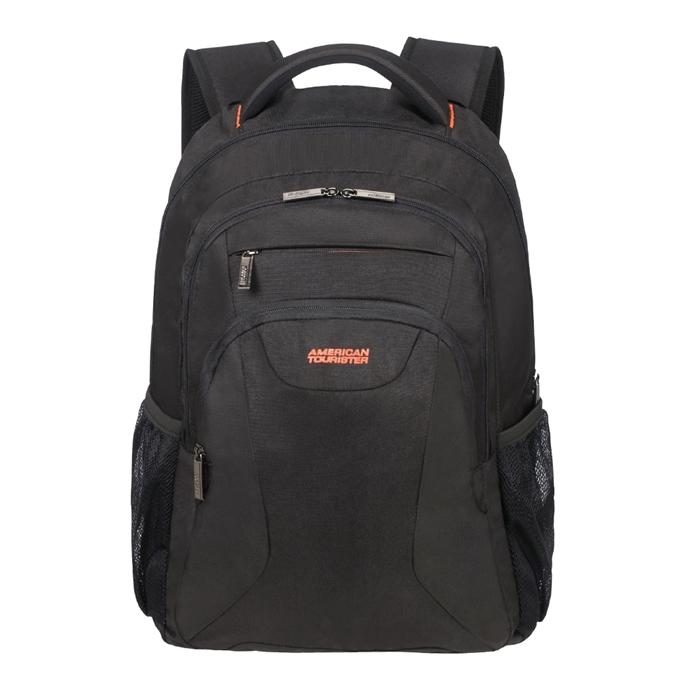"American Tourister At Work Laptop Backpack 17.3"" black/orange"