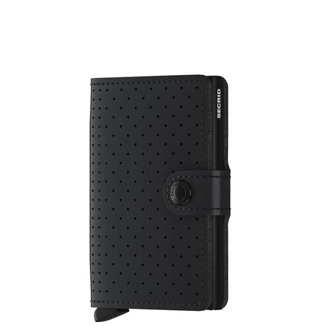 Secrid Miniwallet Portemonnee perforated black - 1