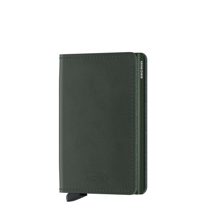 Secrid Slimwallet Portemonnee original green - 1