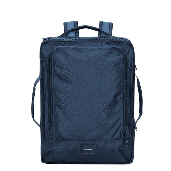 Sandqvist Tyre Travel Backpack navy - 1