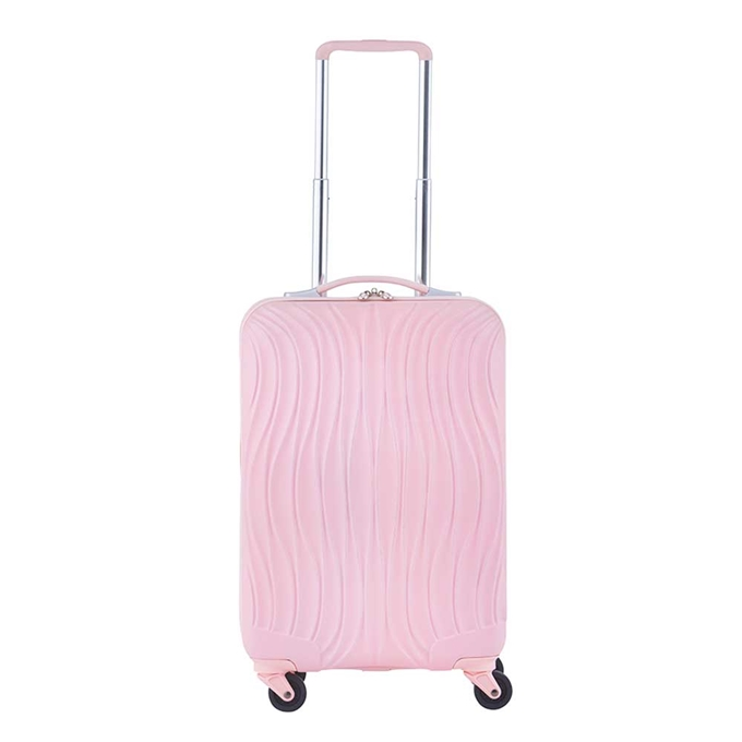 CarryOn Wave Koffer 55 baby roze - 1