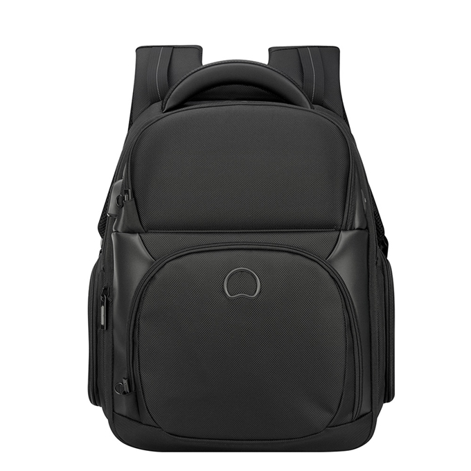 Delsey Quarterback Premium Two Compartments Backpack M black - 1