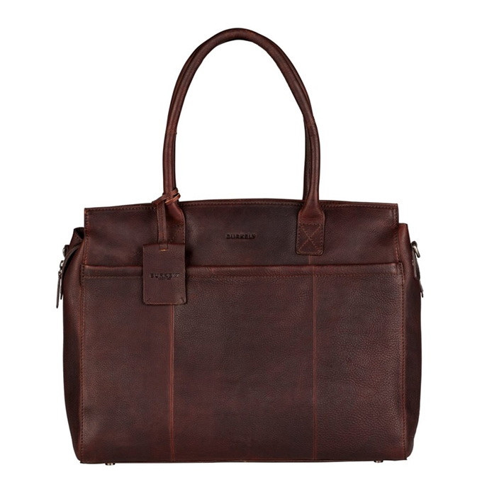 "Burkely Antique Avery Laptopbag 1-Zip 15.6"" brown - 1"