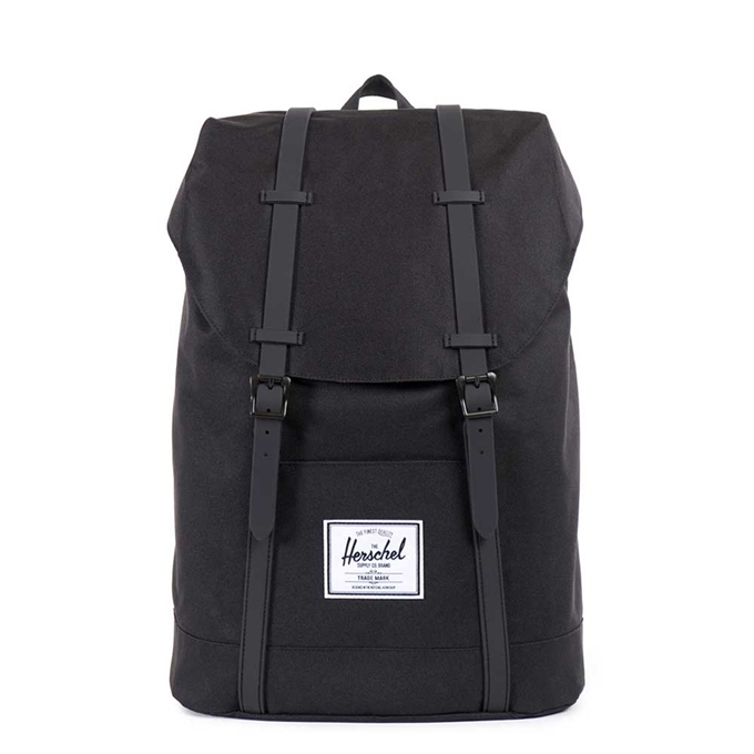 Herschel Supply Co. Retreat Rugzak black/black - 1