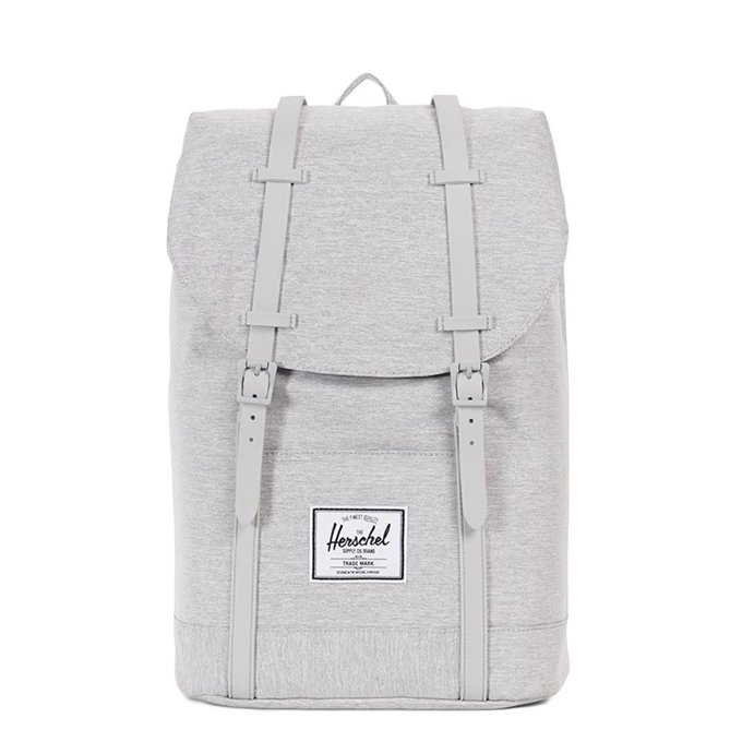 Herschel Supply Co. Retreat Rugzak light grey crosshatch/grey rubber - 1
