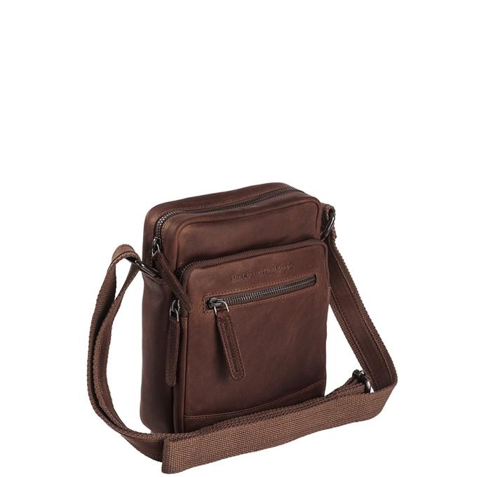 The Chesterfield Brand Birmingham Schoudertas brown