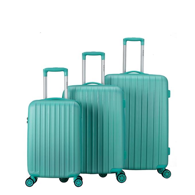 Decent Tranporto One 3-delige Kofferset mint groen - 1