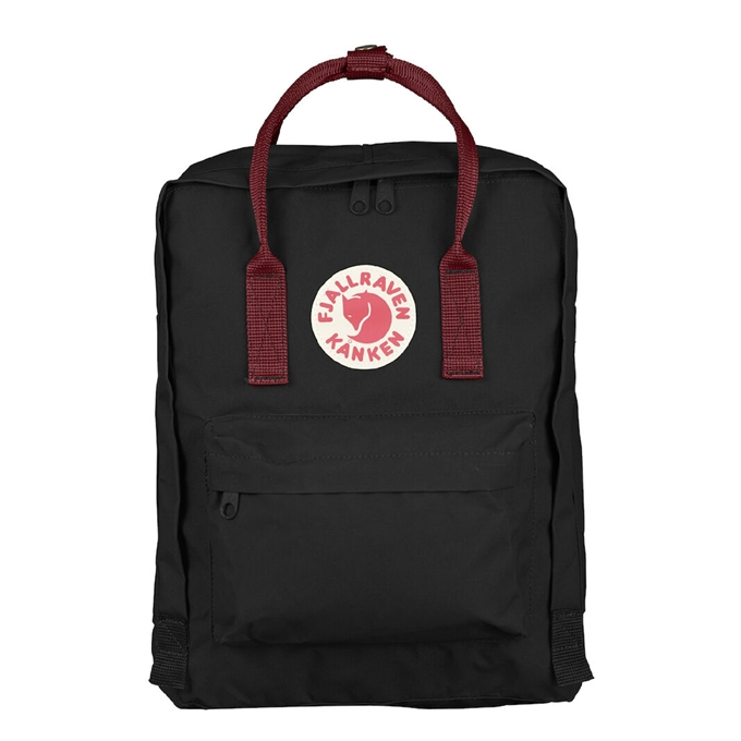 Fjallraven Kanken Rugzak black ox red - 1