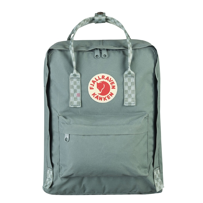 Fjallraven Kanken Rugzak frost green/chess pattern - 1