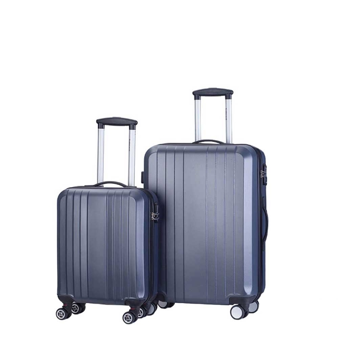 Decent Tobi Line 2-delige Kofferset antraciet - 1