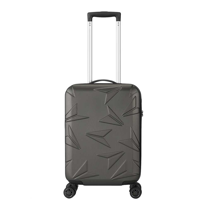 Decent Q-Luxx Trolley 55 antraciet - 1