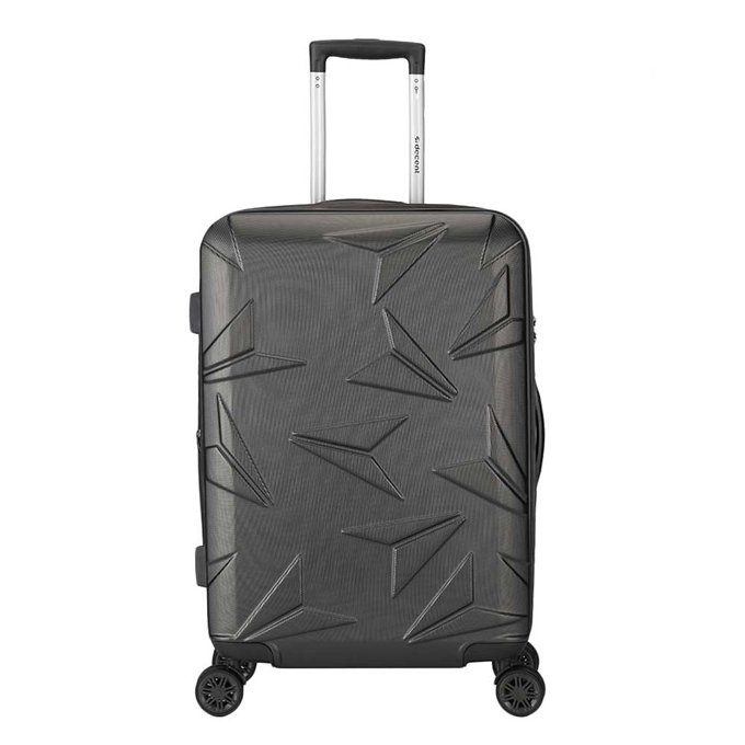 Decent Q-Luxx Trolley 67 antraciet - 1
