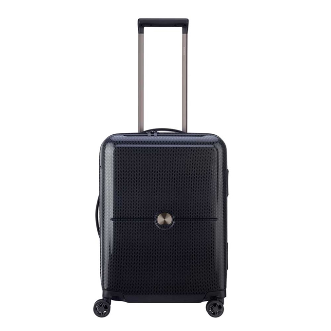 Delsey Turenne 4 Wheel Trolley 55 black2 - 1