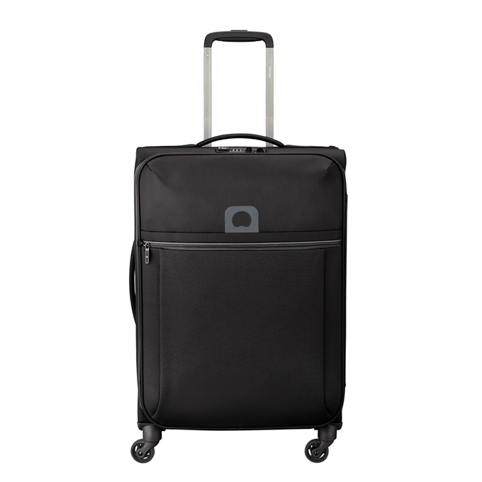 Delsey Brochant 4 Wheels Trolley 67 black - 1