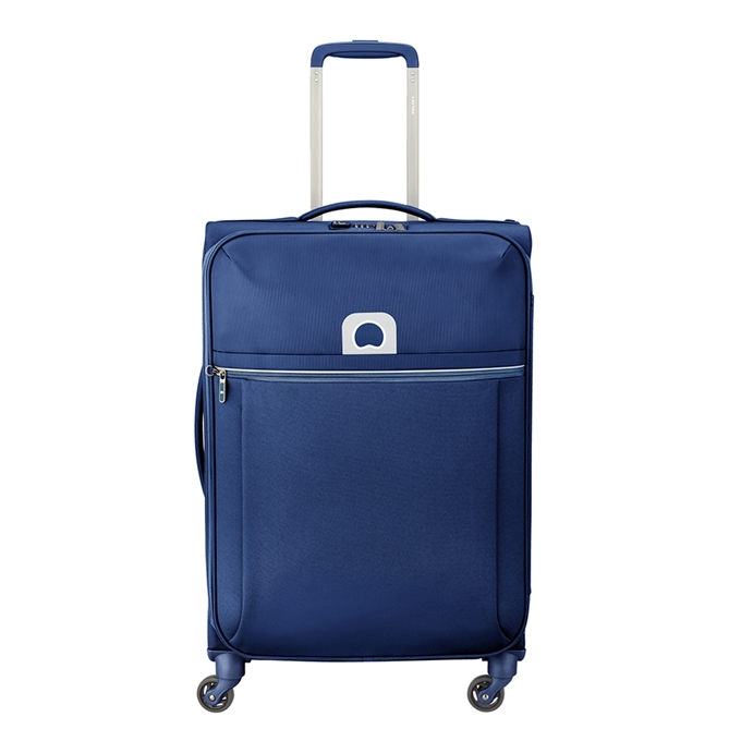 Delsey Brochant 4 Wheels Trolley 67 blue - 1