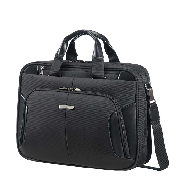 Samsonite XBR Bailhandle Slim 2C 15.6''  black - 1