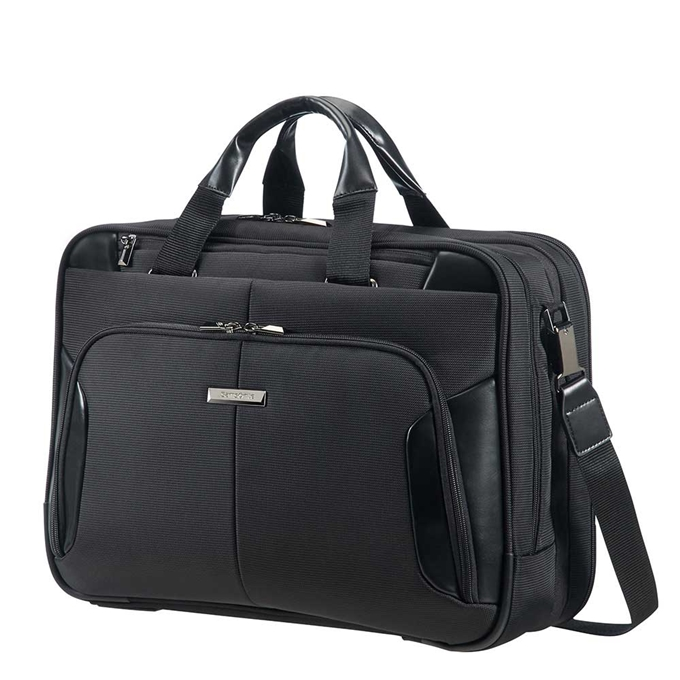 Samsonite XBR Bailhandle 3C 15.6'' expandable black
