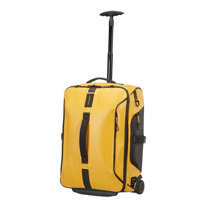 Samsonite Paradiver Light Duffle Wheels Backpack 55 yellow