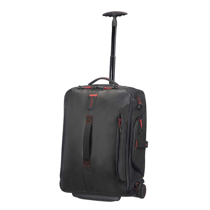 Samsonite Paradiver Light Duffle Wheels Backpack 55 black