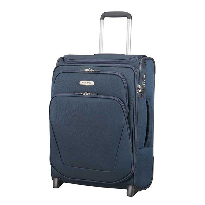 Samsonite Spark SNG Upright 55 Expandable Toppocket blue