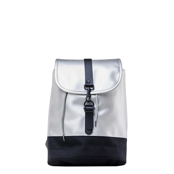 Rains Original Drawstring Backpack silver - 1