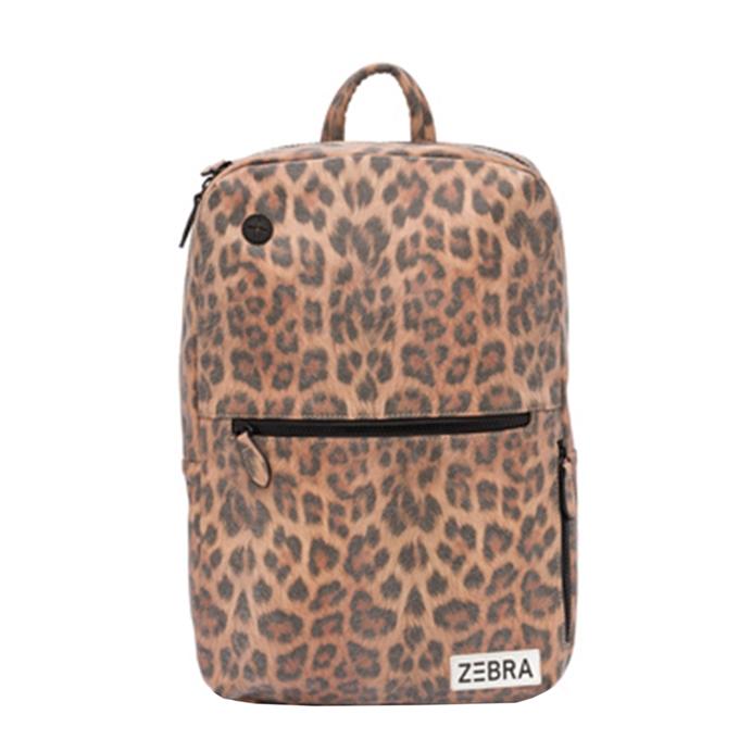 Zebra Trends Girls Rugzak L leo camel pink - 1