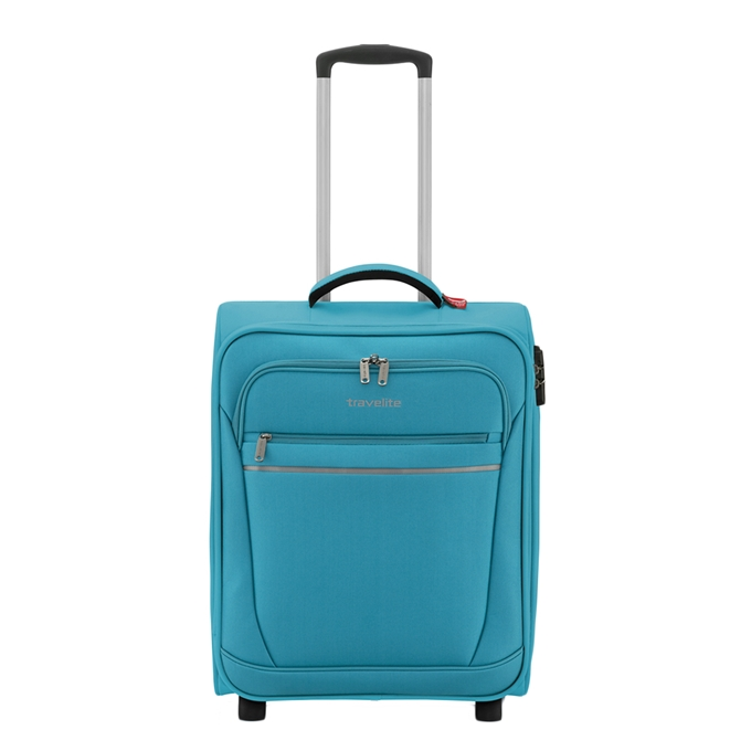 Travelite Cabin 2 Wiel Boardtrolley turquoise