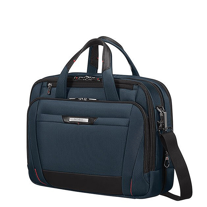 Samsonite Pro-DLX 5 Laptop Bailhandle 15.6'' Expandable oxford blue - 1