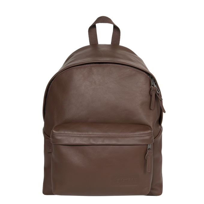 Eastpak Padded Pak'r Leather Leather Laptop Rugzak chestnut leather - 1