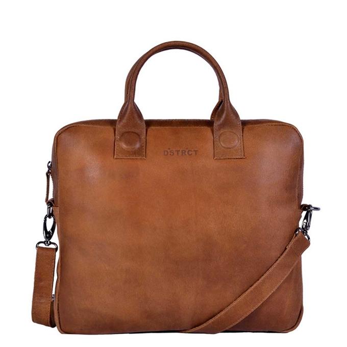 "DSTRCT Fletcher Street Laptopbag 13"" cognac - 1"