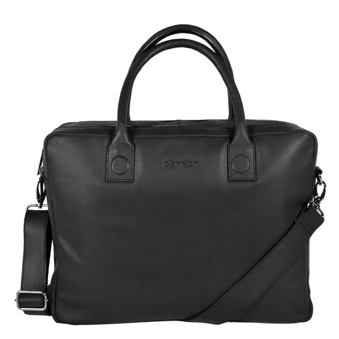 "DSTRCT Fletcher Street Workingbag 15.6"" black"