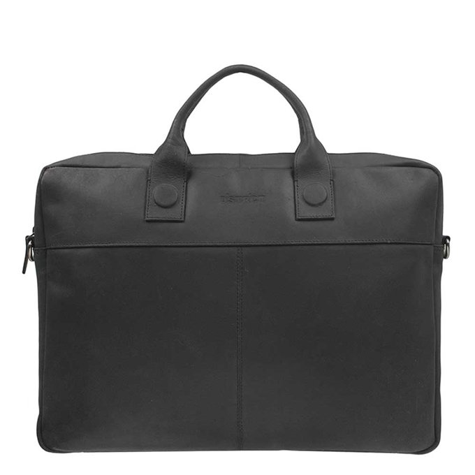 "DSTRCT Fletcher Street Workingbag 17"" black - 1"