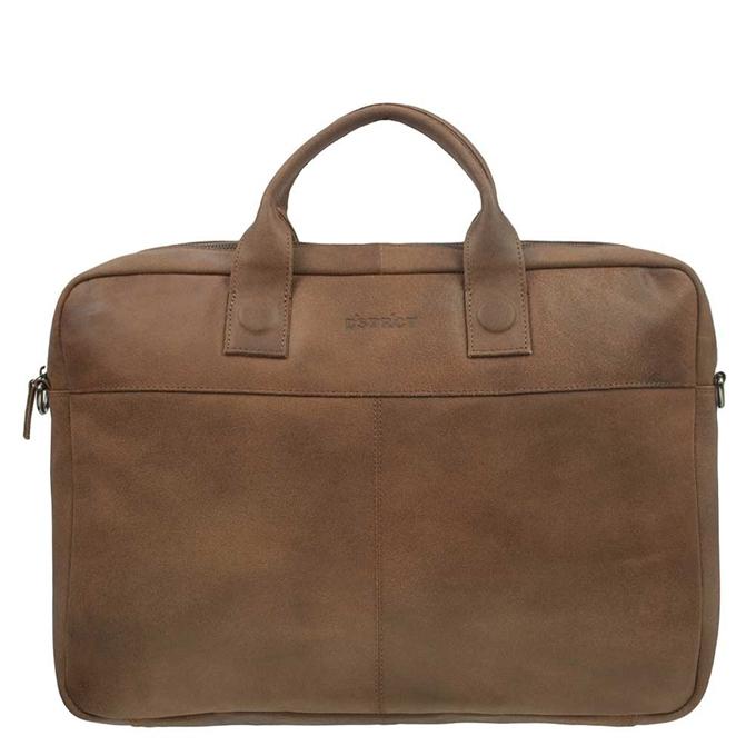 "DSTRCT Fletcher Street Workingbag 17"" cognac - 1"