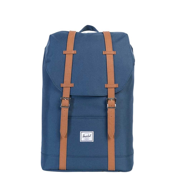 Herschel Supply Co. Retreat Mid-Volume Rugzak navy/tan