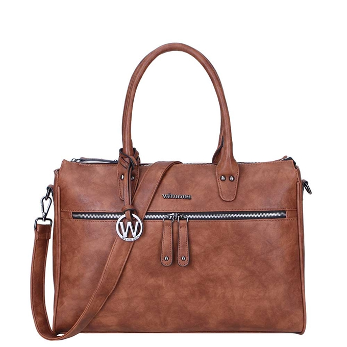 Wimona Fabiana-Two Dames Laptoptas cognac