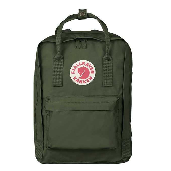 "Fjallraven Kanken Laptop 13"" Rugzak forest green - 1"