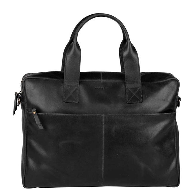 """Burkely Vintage Laptop Bag 15.6"""" black - 1"""