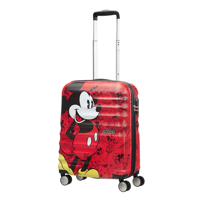 American Tourister Wavebreaker Disney Spinner 55 mickey comics red - 1