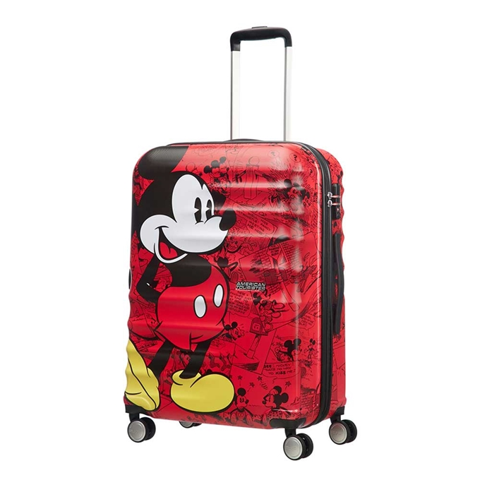 American Tourister Wavebreaker Disney Spinner 67 mickey comics red - 1