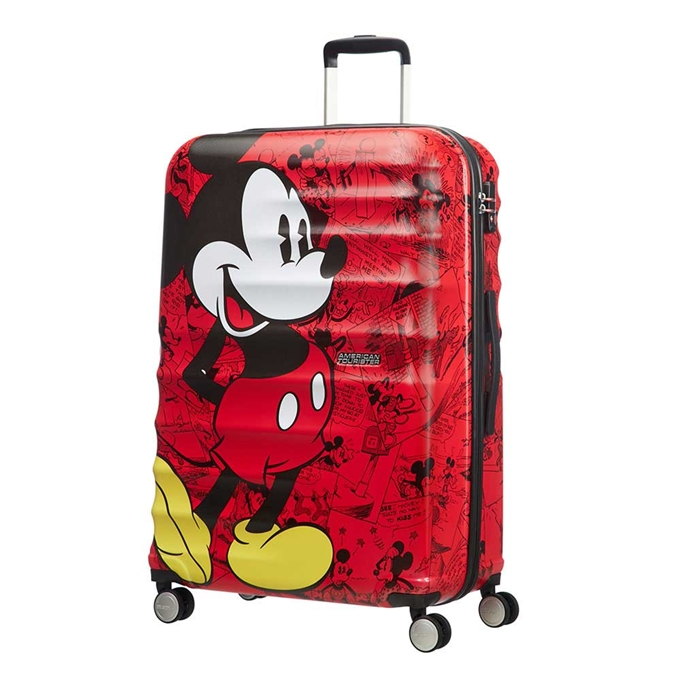 American Tourister Wavebreaker Disney Spinner 77 mickey comics red - 1