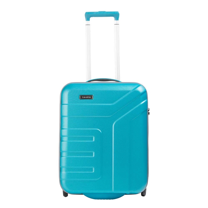 Travelite Vector 2 Wiel Trolley S turquoise - 1