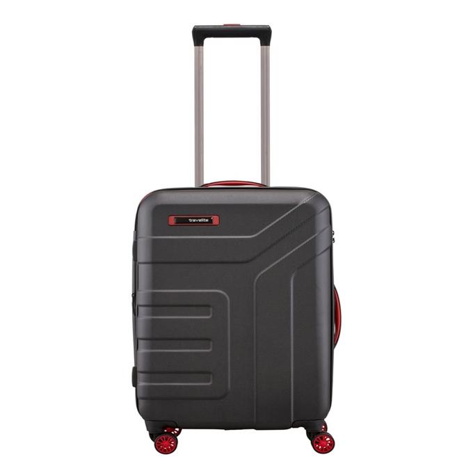 Travelite Vector 4 Wiel Trolley S black - 1