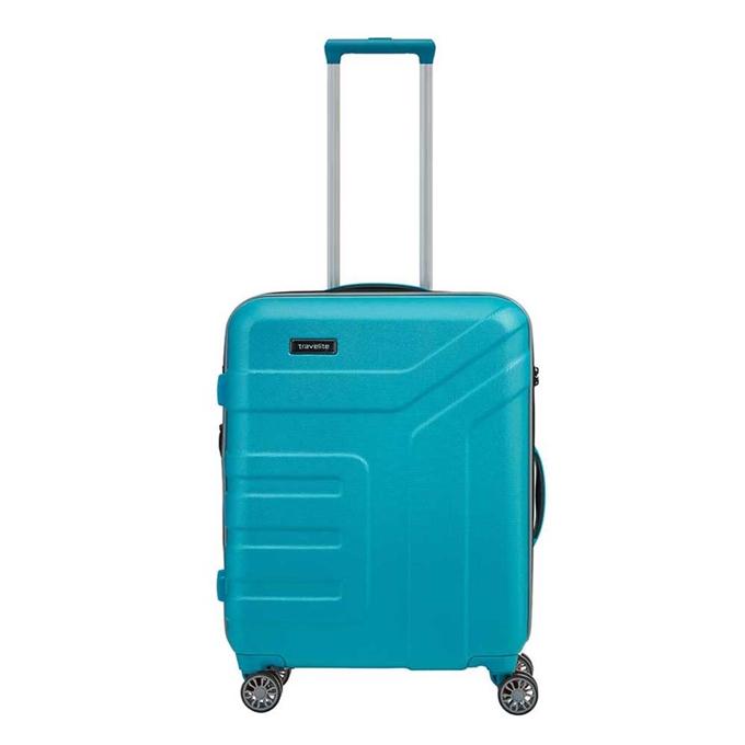 Travelite Vector 4 Wiel Trolley S turquoise - 1