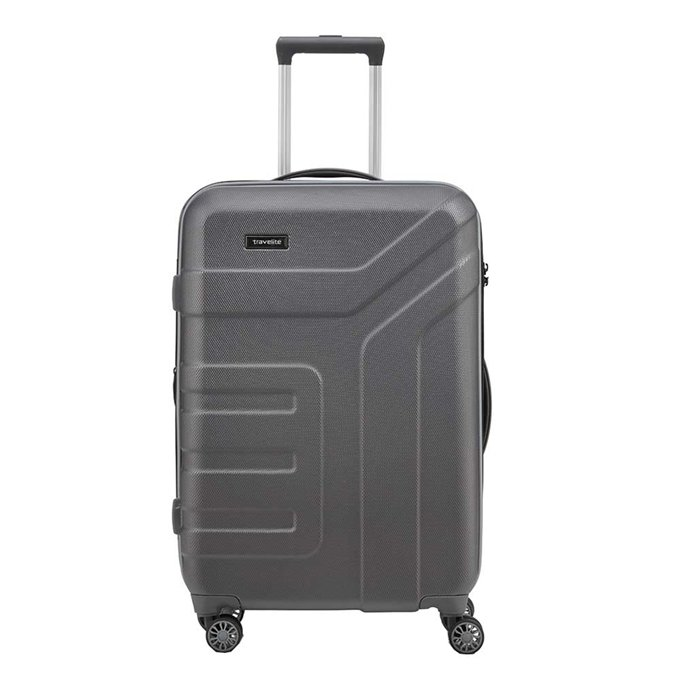 Travelite Vector 4 Wiel Trolley M Expandable anthracite - 1