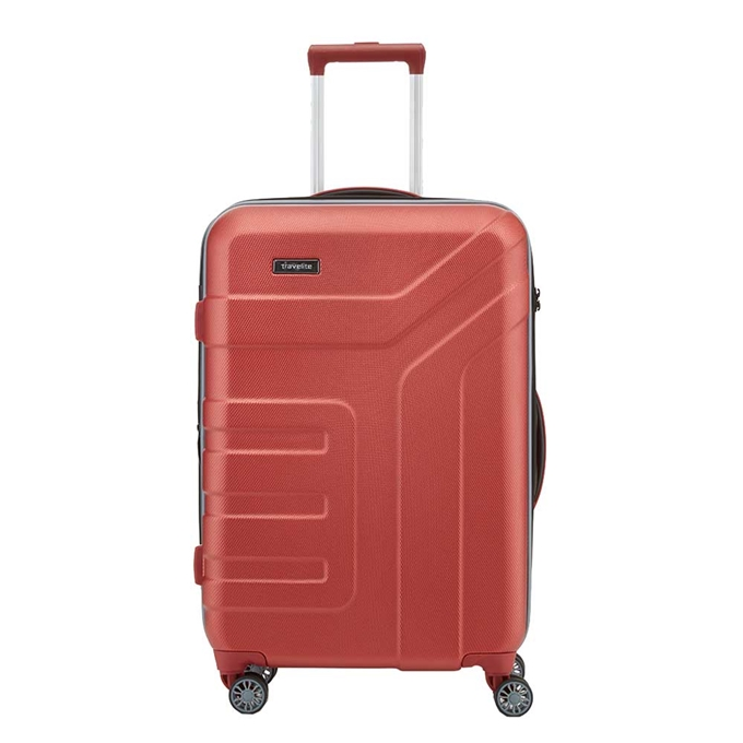 Travelite Vector 4 Wiel Trolley M Expandable coral - 1