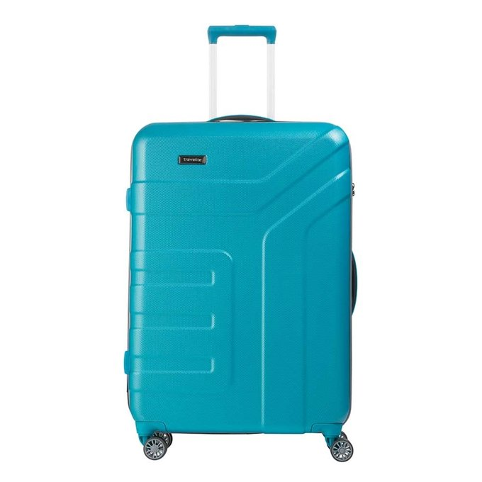 Travelite Vector 4 Wiel Trolley L turquoise - 1