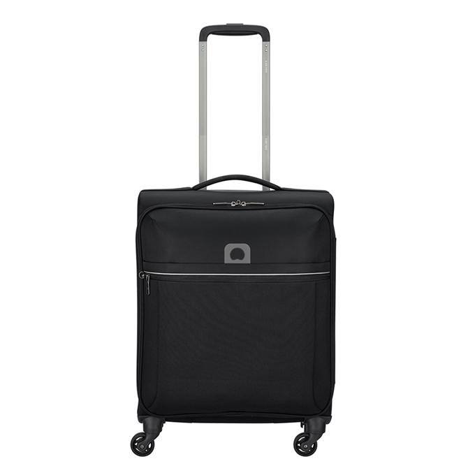 Delsey Brochant 4 Wheel Slim Cabin Trolley 55 black - 1