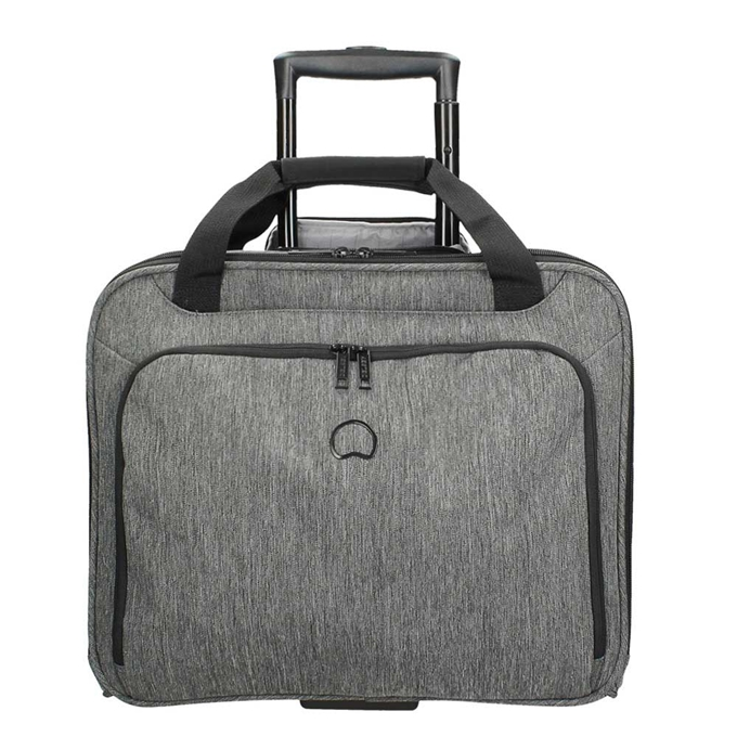 """Delsey Esplanade One Compartment Trolley Boardcase 15.6"""" anthracite - 1"""