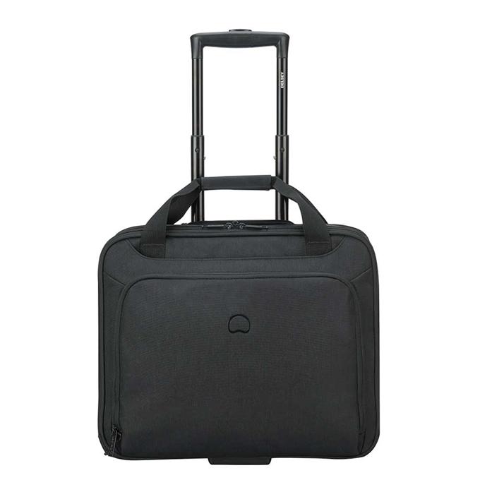 """Delsey Esplanade One Compartment Trolley Boardcase 15.6"""" deep black"""